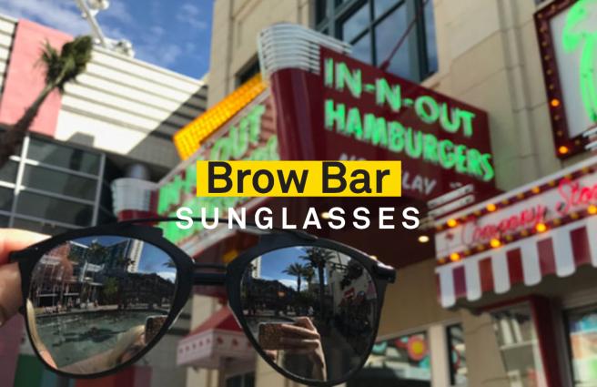 Affordable sunglasses.